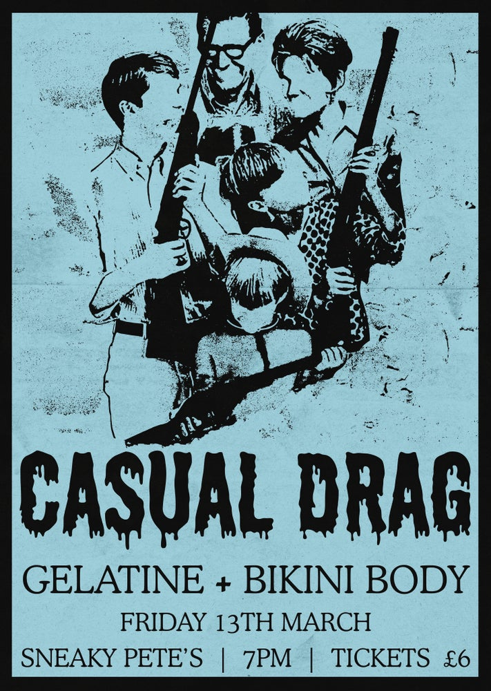 Image of Casual Drag: live at Sneaky Pete's