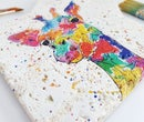 Image 2 of 'Rainbow Giraffe' Stone Gift Set