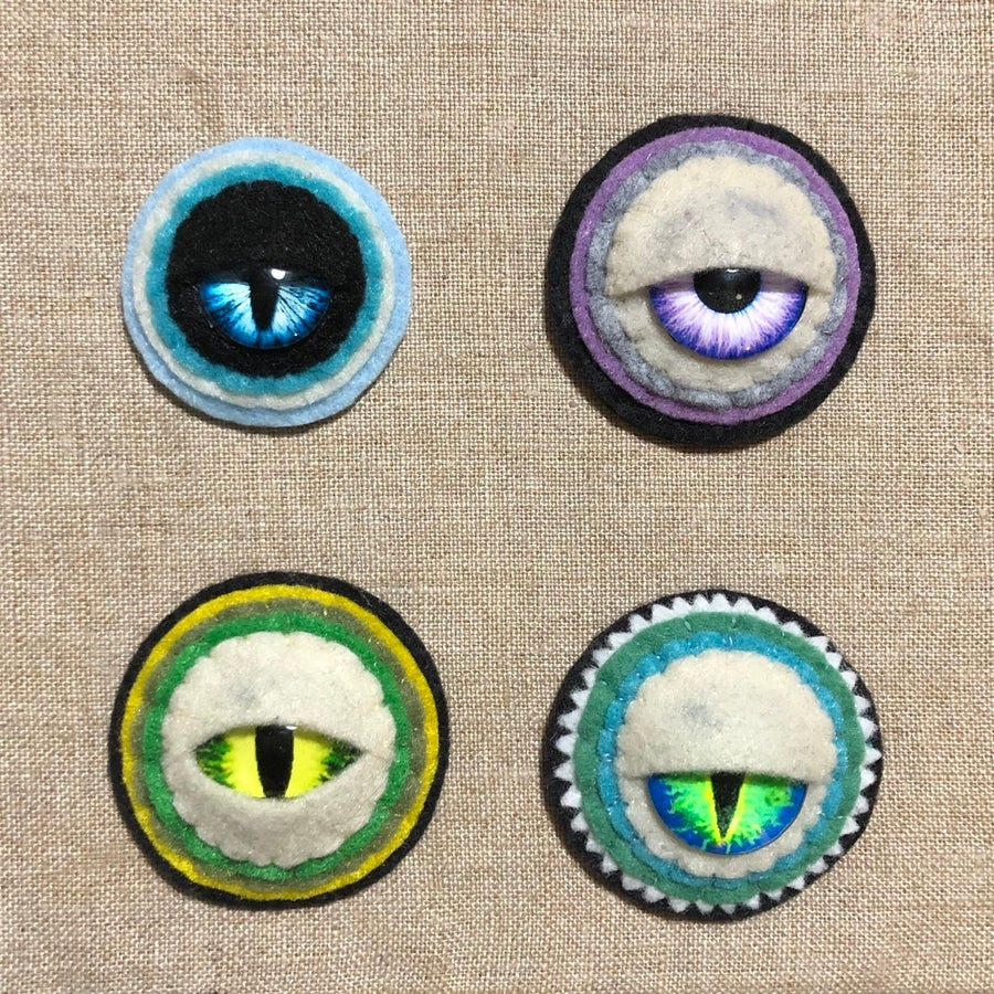Image of EYE like you brooches