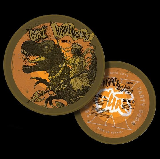 """Image of HORRENDOSAURUS - 12"""" Vinyl Picture Disc (Strictly Limited - 10 Years of GURT edition)"""