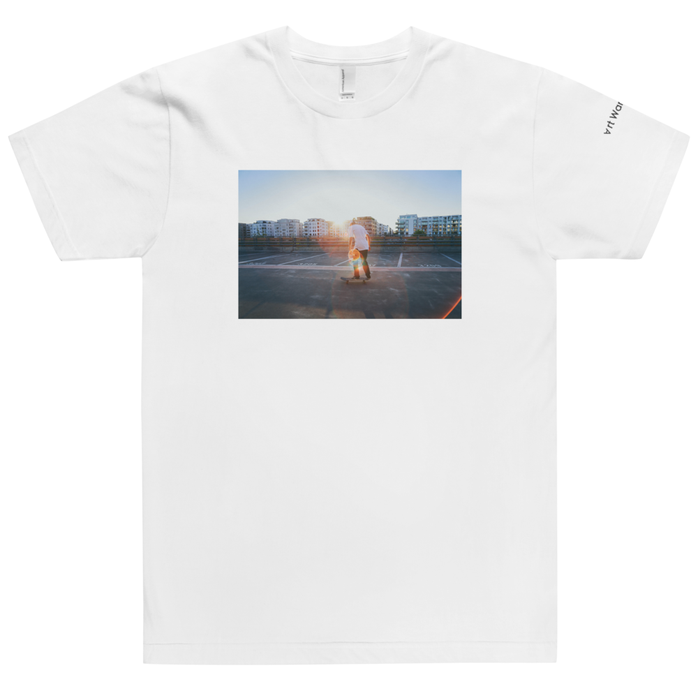 Image of Art Wanderers® X American Apparel® - Rider by Flo Karr - T-Shirt - White