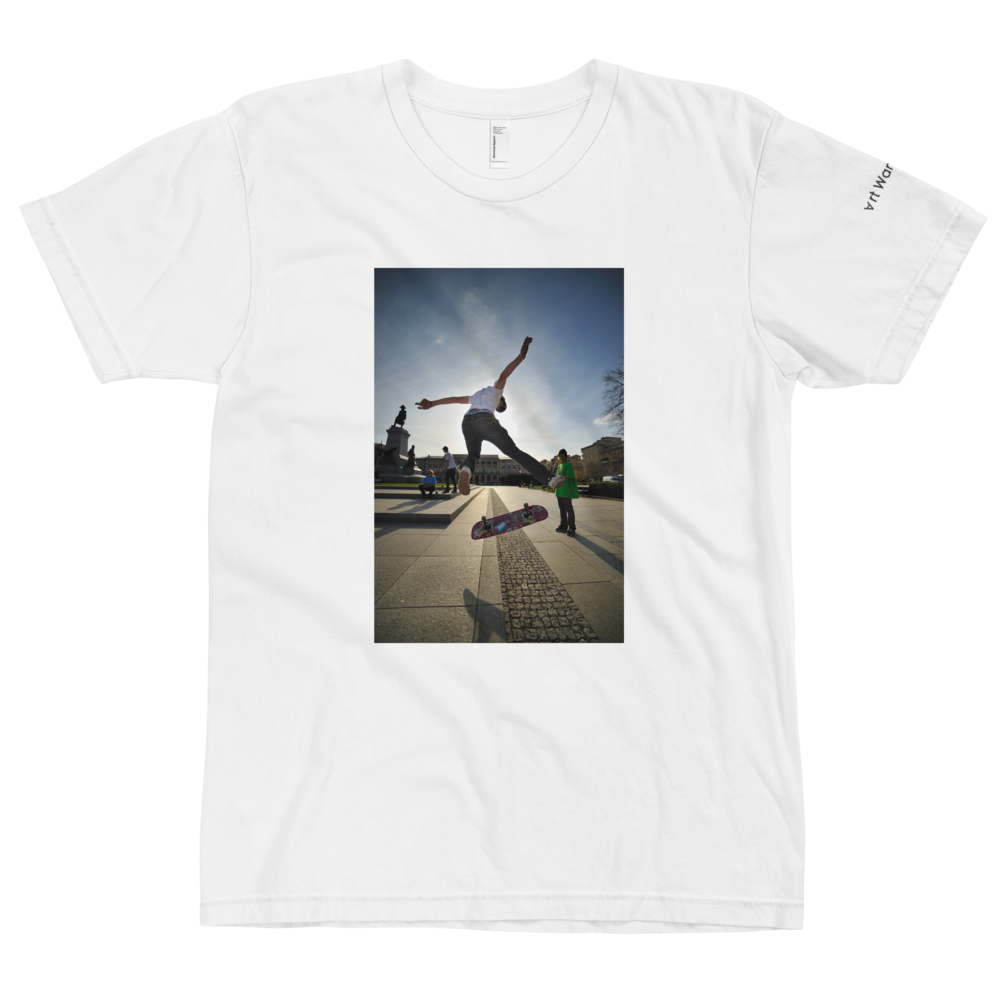 Image of Art Wanderers® X American Apparel® - Rider by Kuba Bożanowski - T-Shirt - White