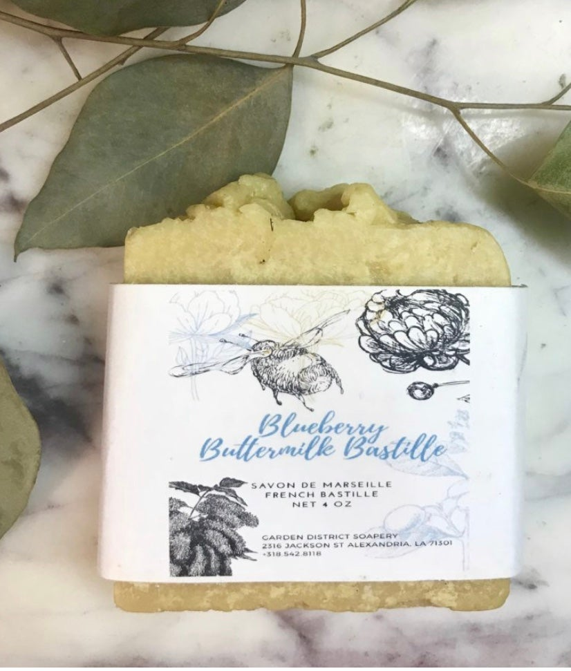 BLUEBERRY BUTTERMILK FRENCH BASTILLE SOAP