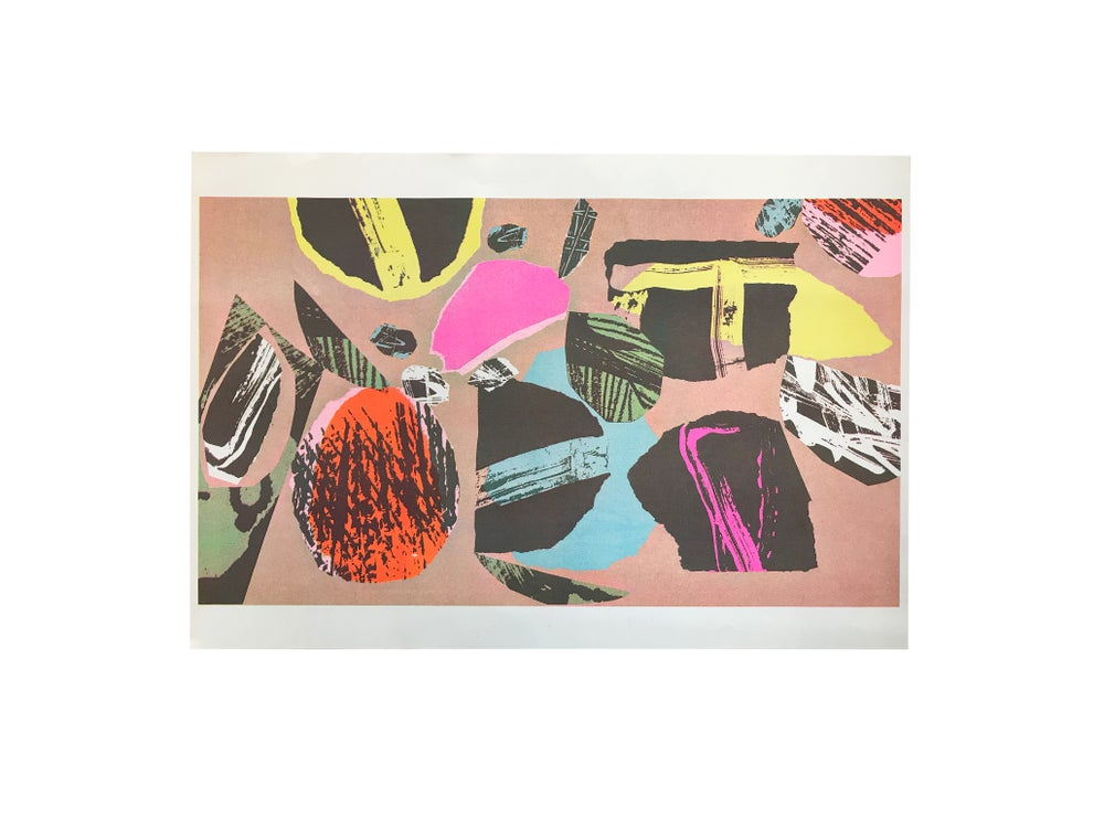Image of 'Everyday Abstract' A3 Riso Print