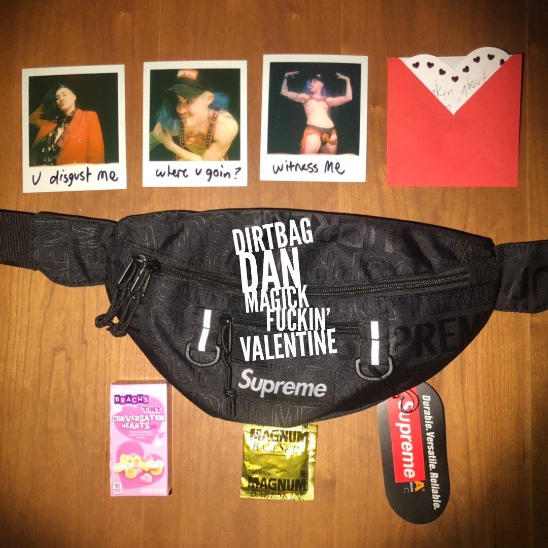 Image of Dirtbag Dan's Magick Fuckin' Valentine: U Disgust Me