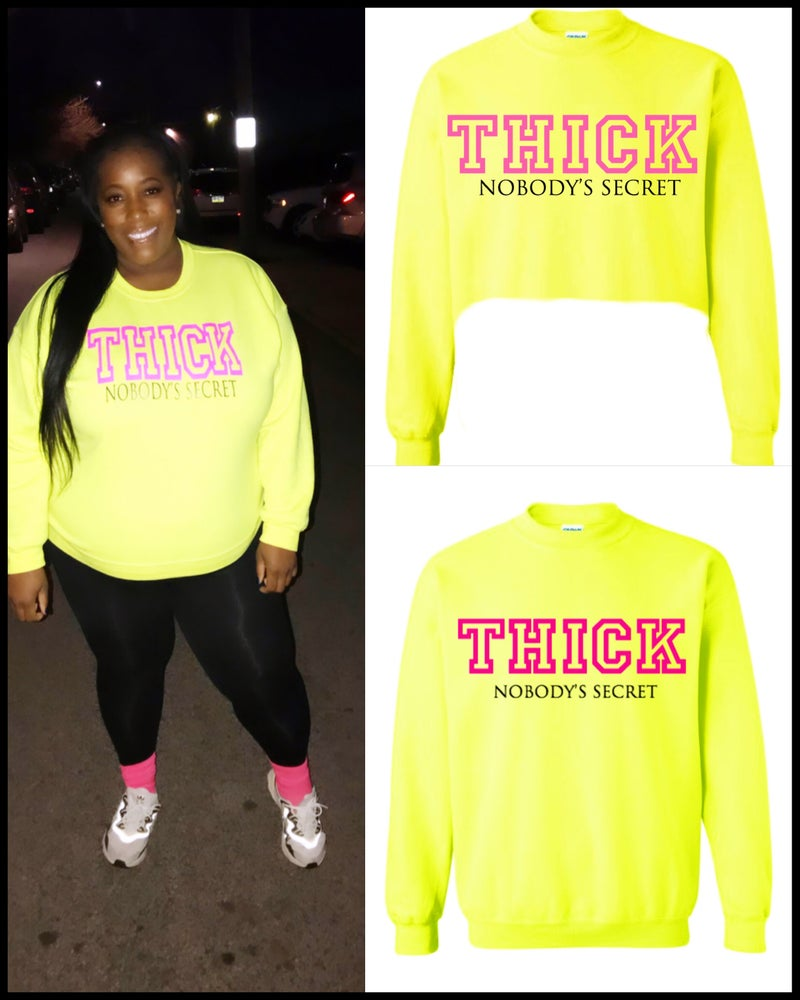 Image of THICK Sweatshirt (Full or Crop)