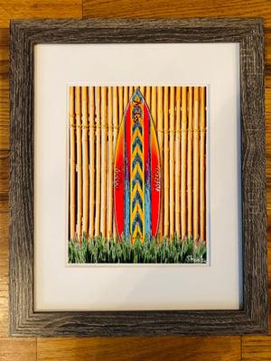 "Image of McCoy ""Lazor Zap"" Surfboard Print"