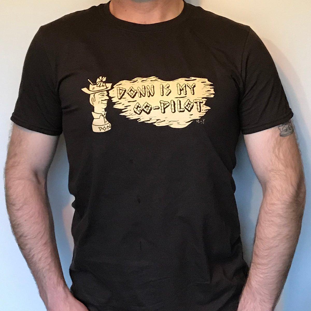 DONN IS MY CO-PILOT Men's T-Shirt