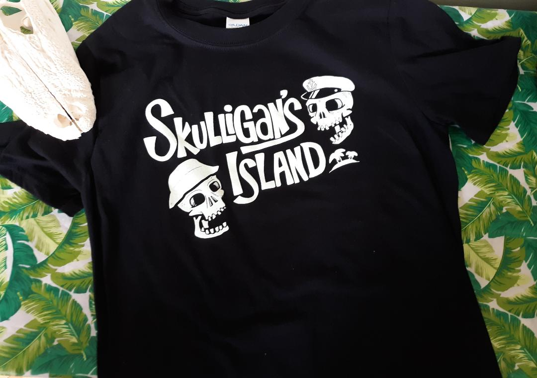 SKULLIGAN'S ISLAND Glow-in-the-Dark Men's T-Shirt