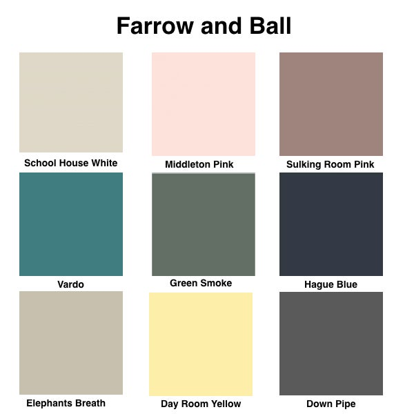 Image of Custom Paint Colours Options
