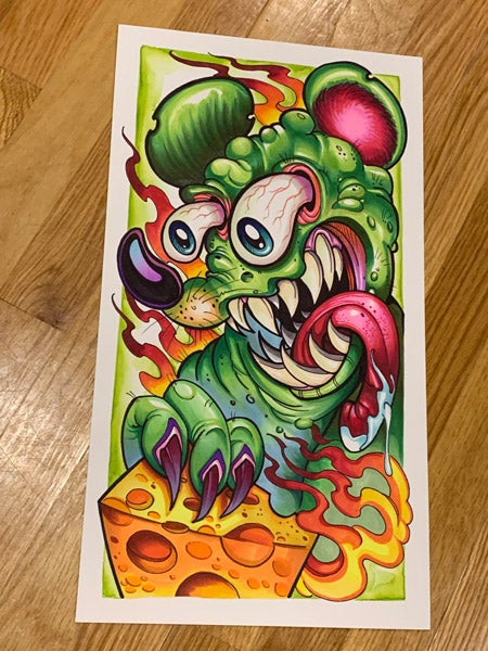 Image of Original Ratfink Marker Drawing