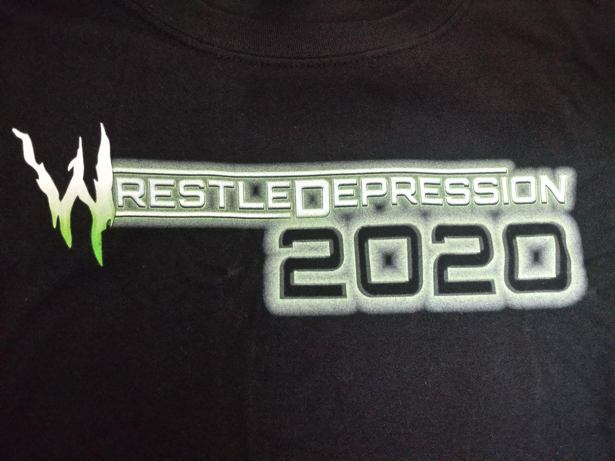 WRESTLEDEPRESSION 2020 - T-Shirt