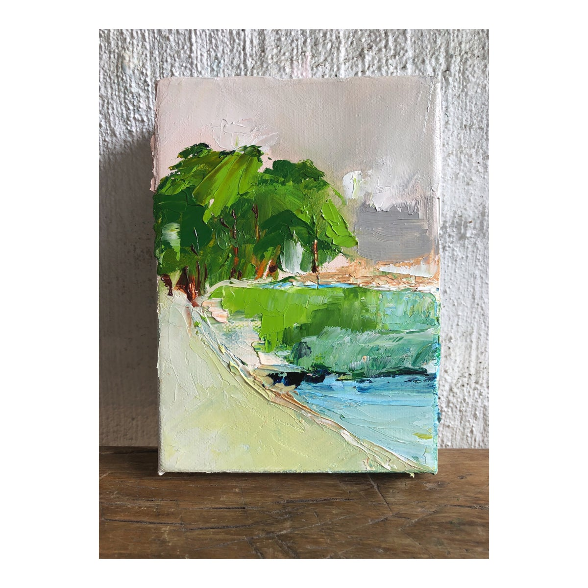 Image of 'Coastal Drive' 2019 Oil on canvas