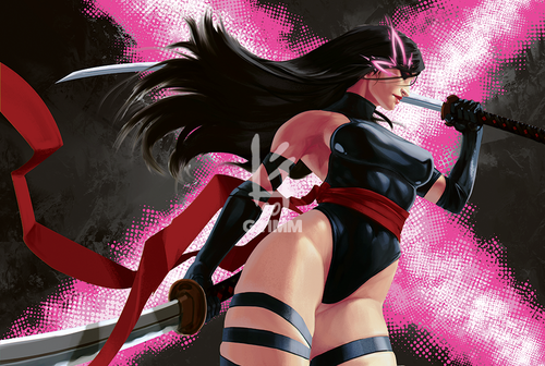 Image of Psylocke, X-Men Poster Prints
