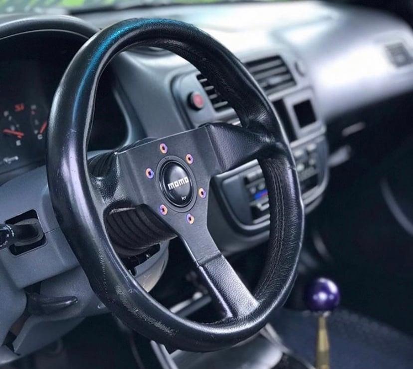Chasing JS Titanium Steering Wheel Bolts