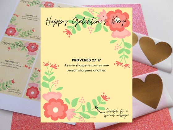Image of Galentine's Day Card Printable (Sharifa Creates)