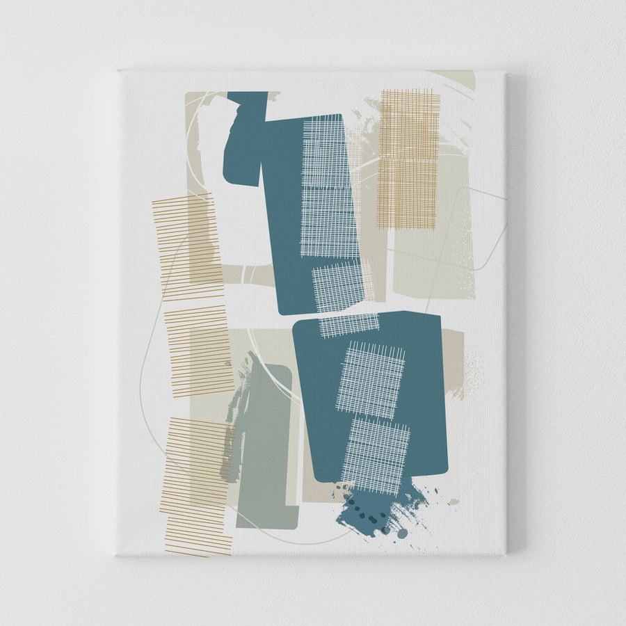 Image of Interwoven Canvas Print