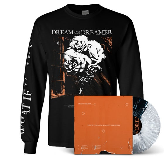 "Image of Longsleeve + 12"" LP"