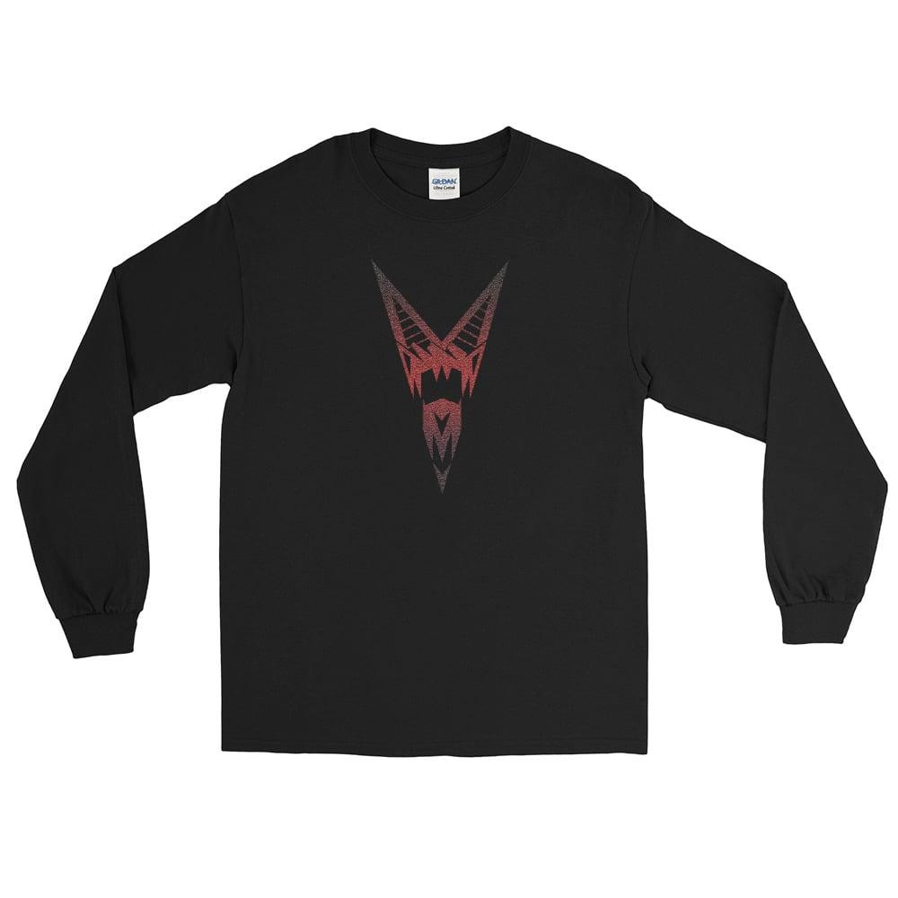 Image of Vzaéurvbtre Logo Long Sleeve T-Shirt