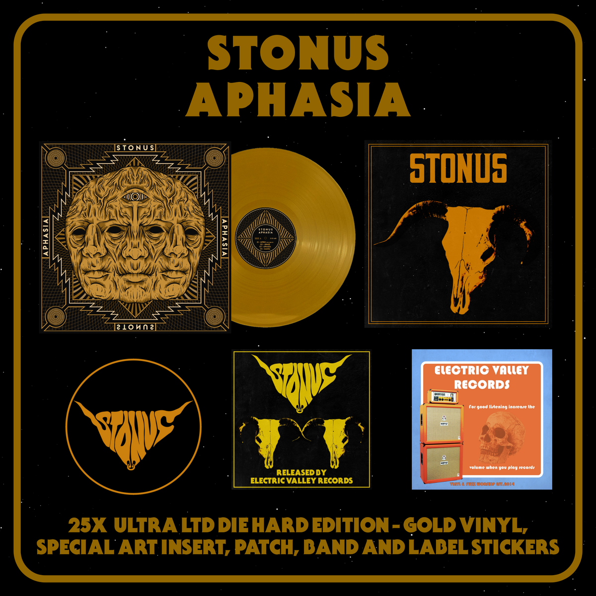 "Image of STONUS - APHASIA Ultra LTD ""DIE HARD EDITION"""