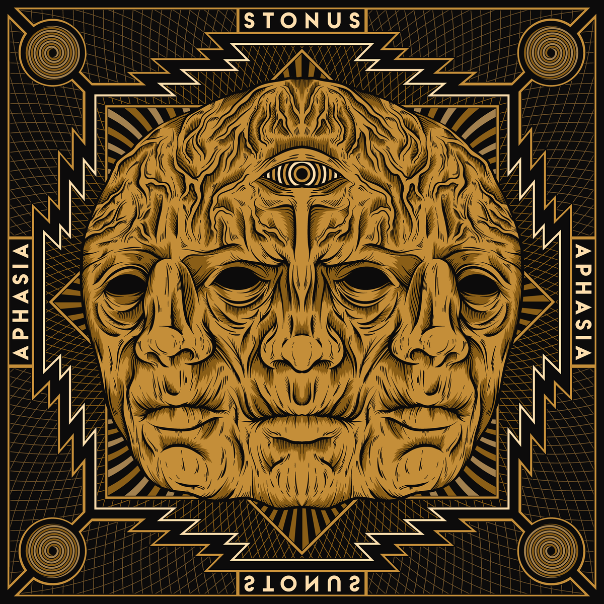 Image of STONUS - APHASIA LTD Gold Vinyl