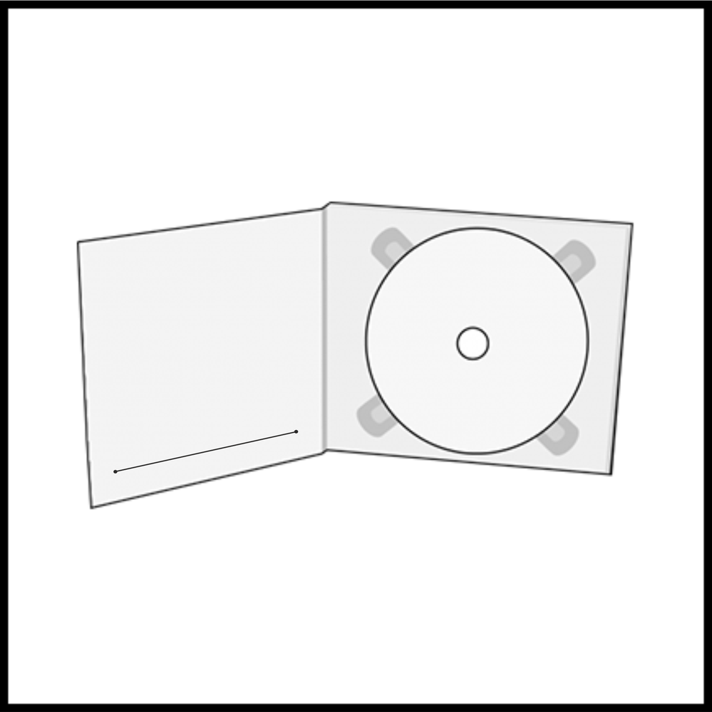 Image of 4P CD DIGIPACK w/ SLOT