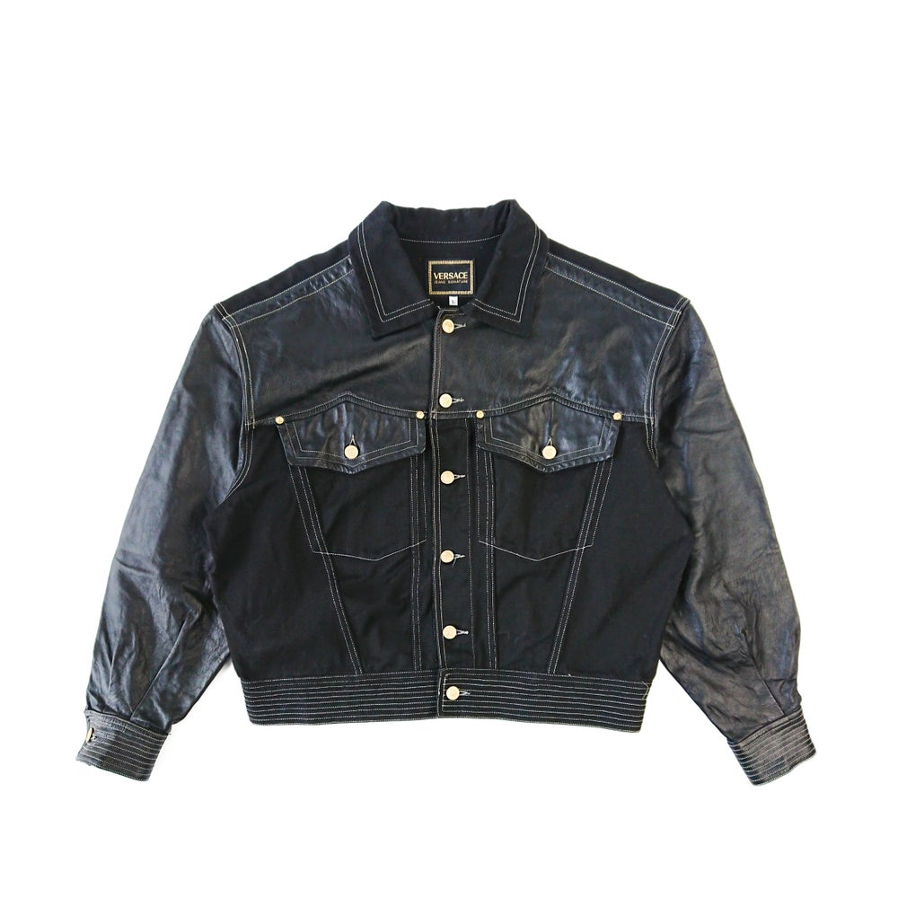 Image of 1992 Versace Jeans Signature Denim Jacket