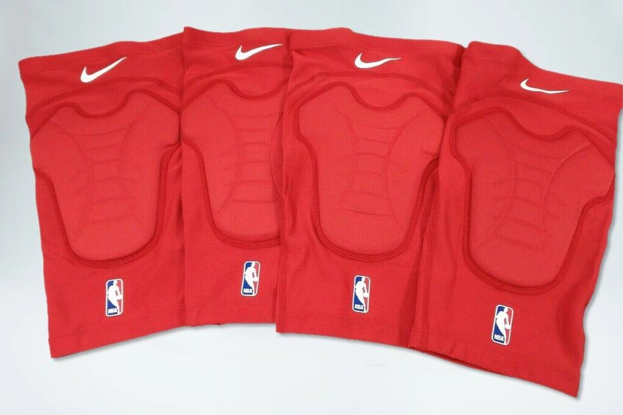 Image of Nike NBA Hyper Strong Knee Pads - Supreme Red
