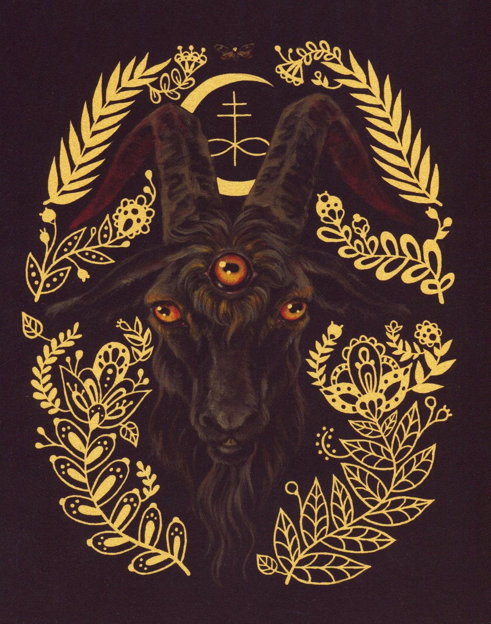 Image of Black Goat of the Woods