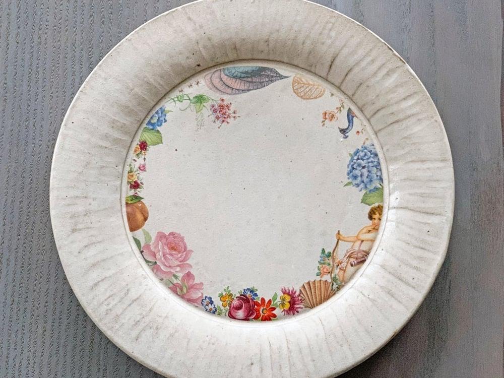 Image of Embellished Cupid Plate