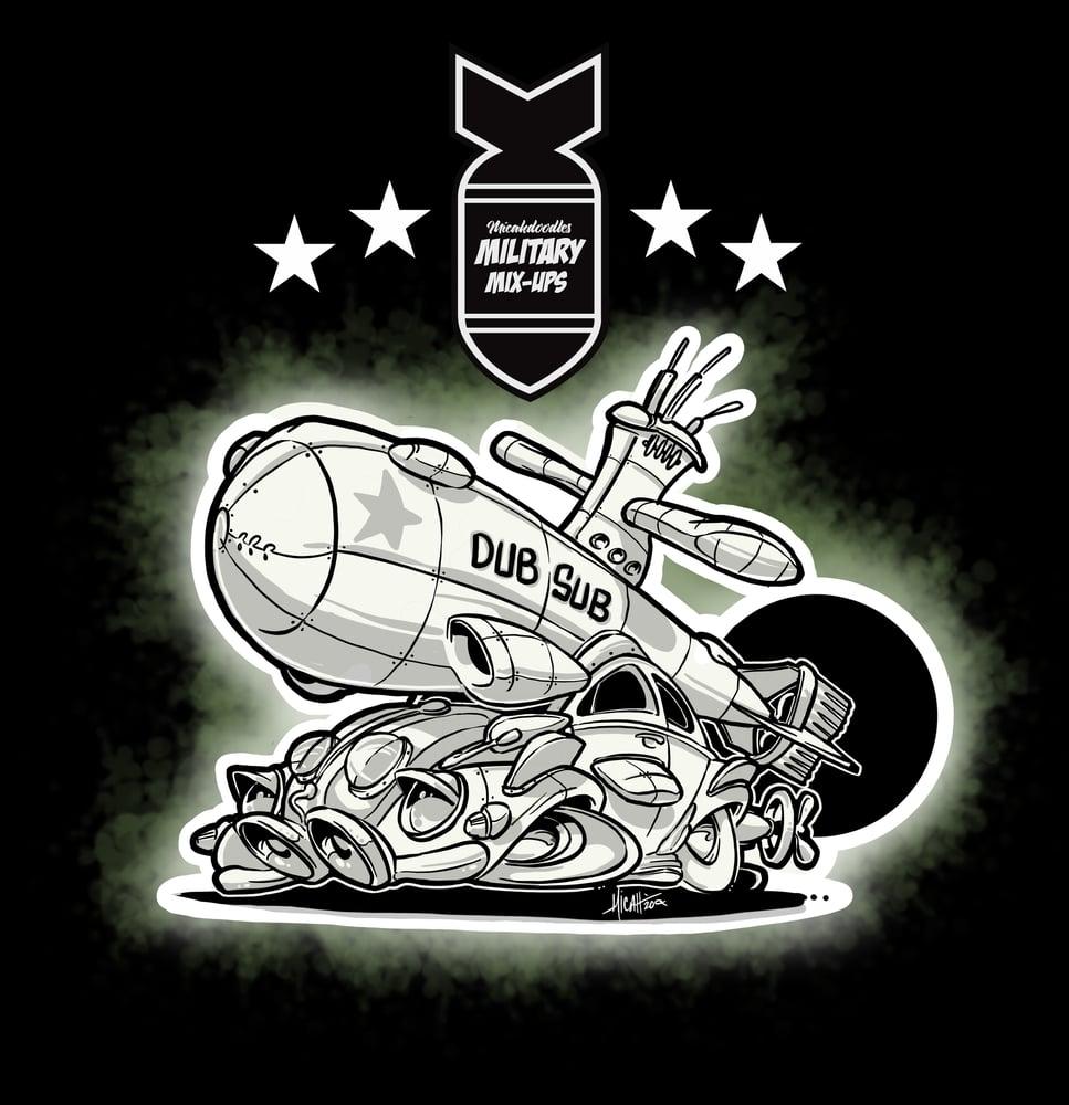 Image of MILITARY MIX UP DUB SUB
