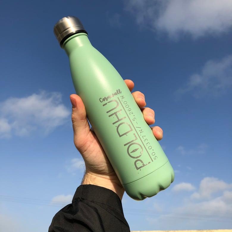Image of Vacuum Bottle 500ml - Sage Green