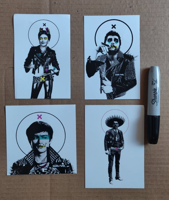 Image of Dead Punks sticker pack