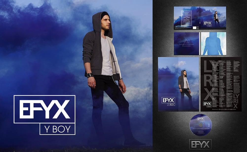 Image of Y BOY (CD edition Digisleeve + Lyrics poster 12 sheets)