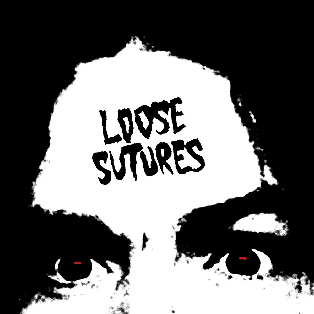 Image of LOOSE SUTURES - S/T Red/Black Marbled Vinyl