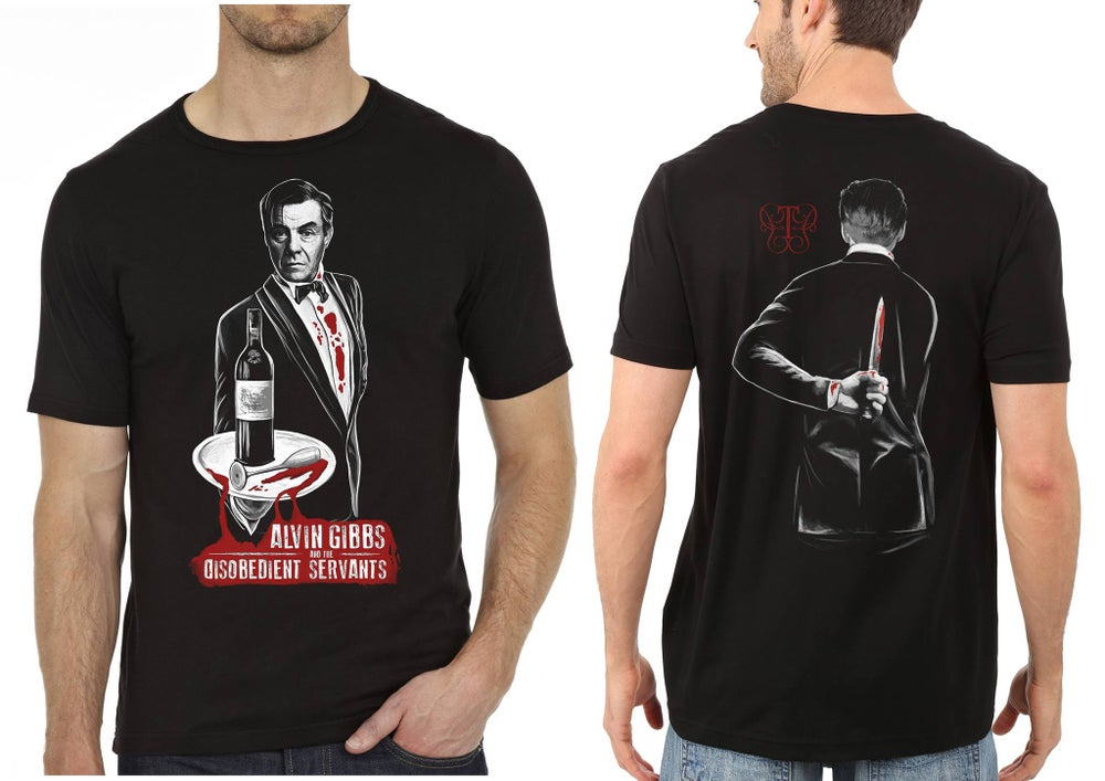 Image of Alvin Gibbs & The Disobedient Servants t-shirt