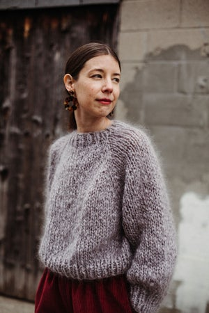 Image of Kelowna Mohair Sweater (in London Fog- more colours)