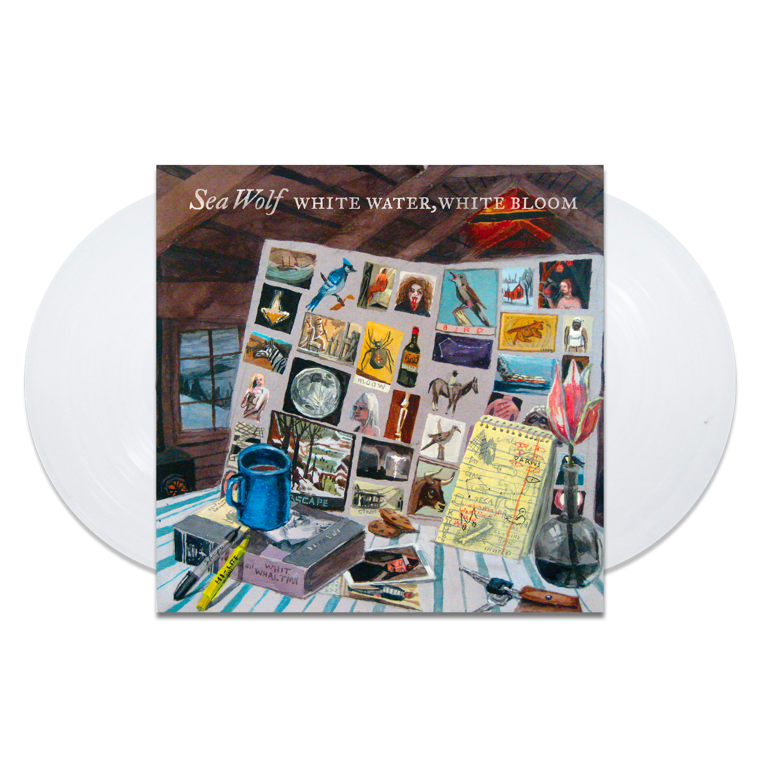 Image of White Water, White Bloom - white Vinyl - 10 Year Anniversary Edition