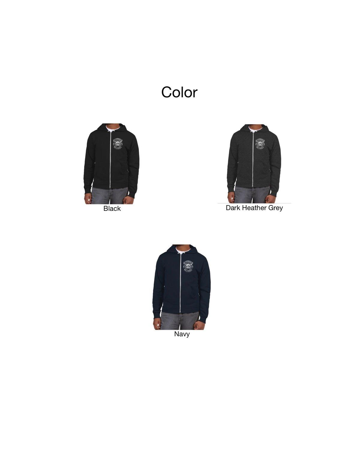 Choose Your Design Zip Up Unisex Hoodie