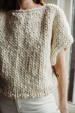 Image of Welland Sweater (shown in natural - more colours)