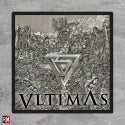 VLTIMAS album cover printed patch