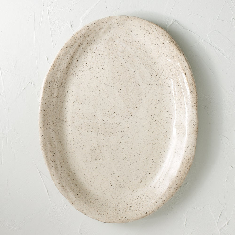 Image of Oval Cream Platter 2