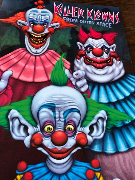 Image of Killer Klowns (prints)