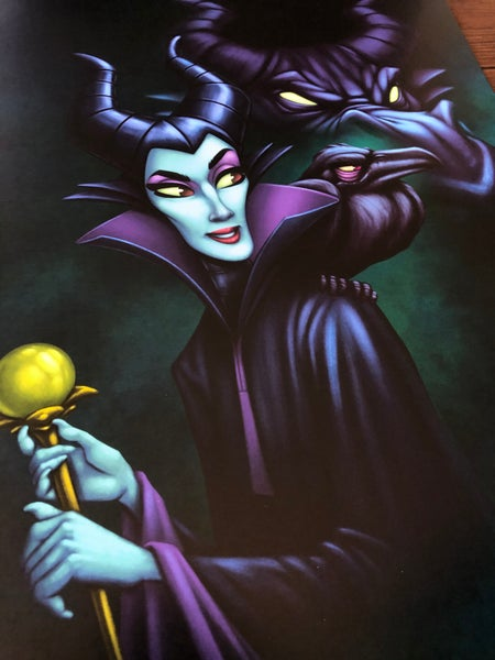 Image of Maleficent (print)