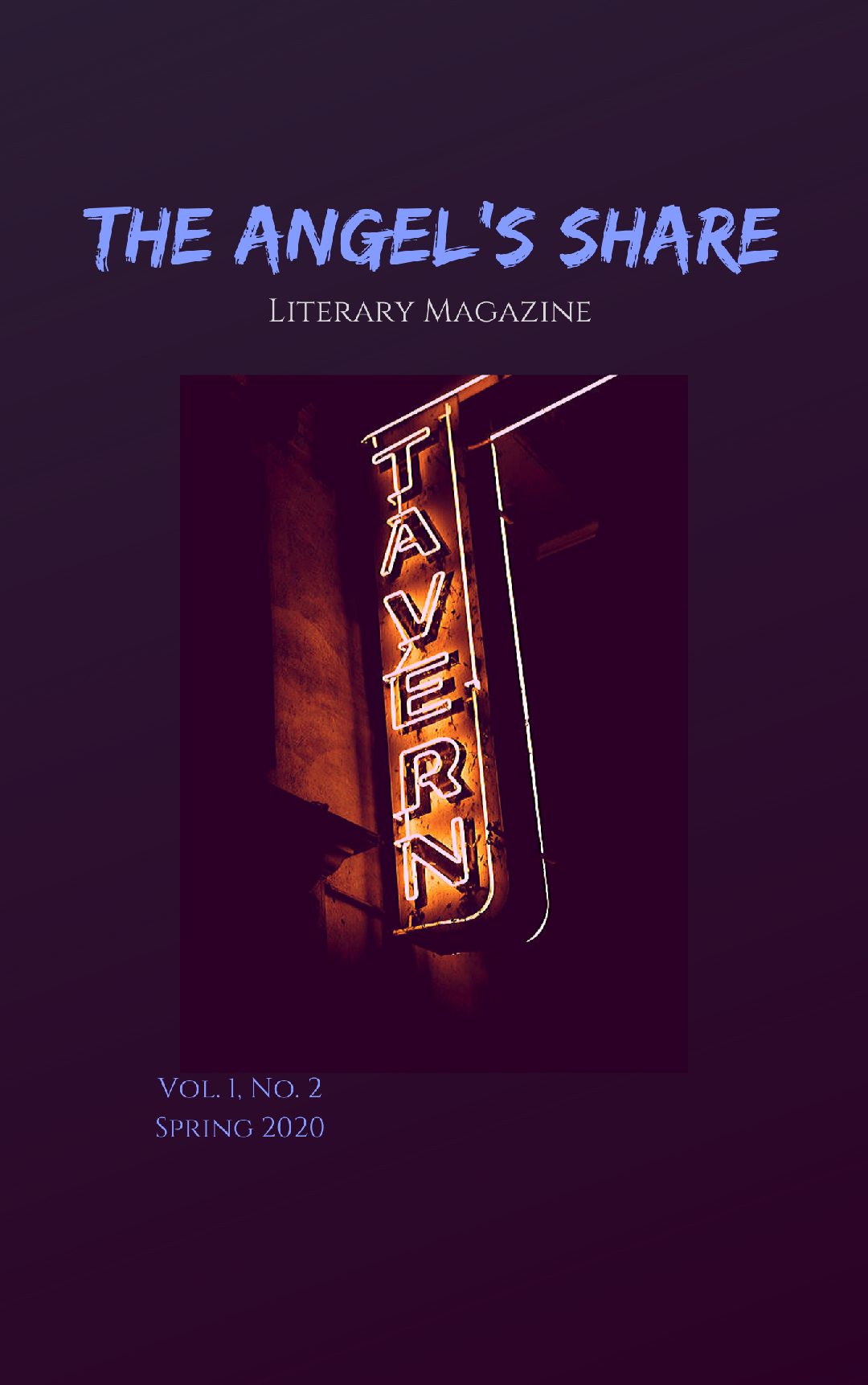 Image of The Angel's Share Literary Magazine