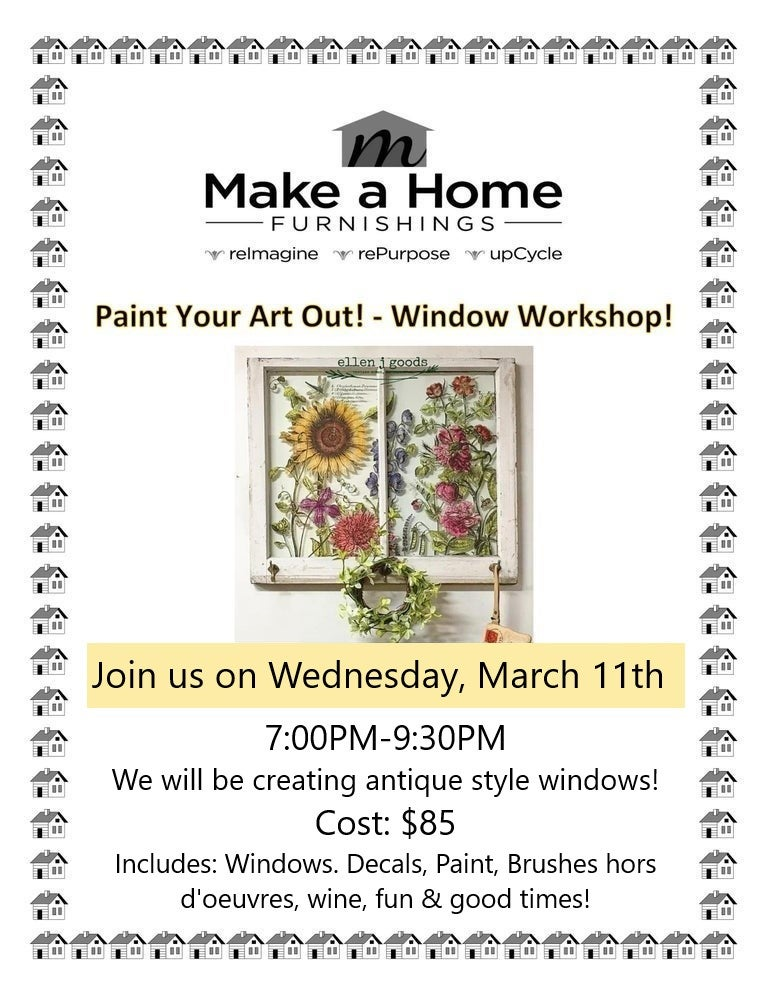 Image of Antique Style Windows - Wednesday, March 11th
