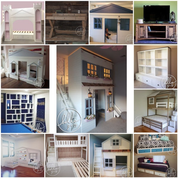 Image of Custom Loft beds, bunk beds, dog beds, furniture & more