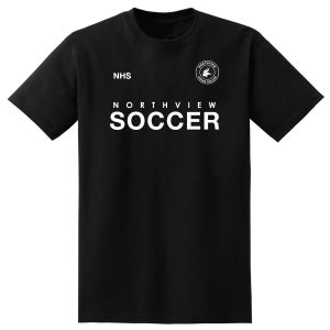 Image of Northview Boys Soccer x KK T-Shirt Black