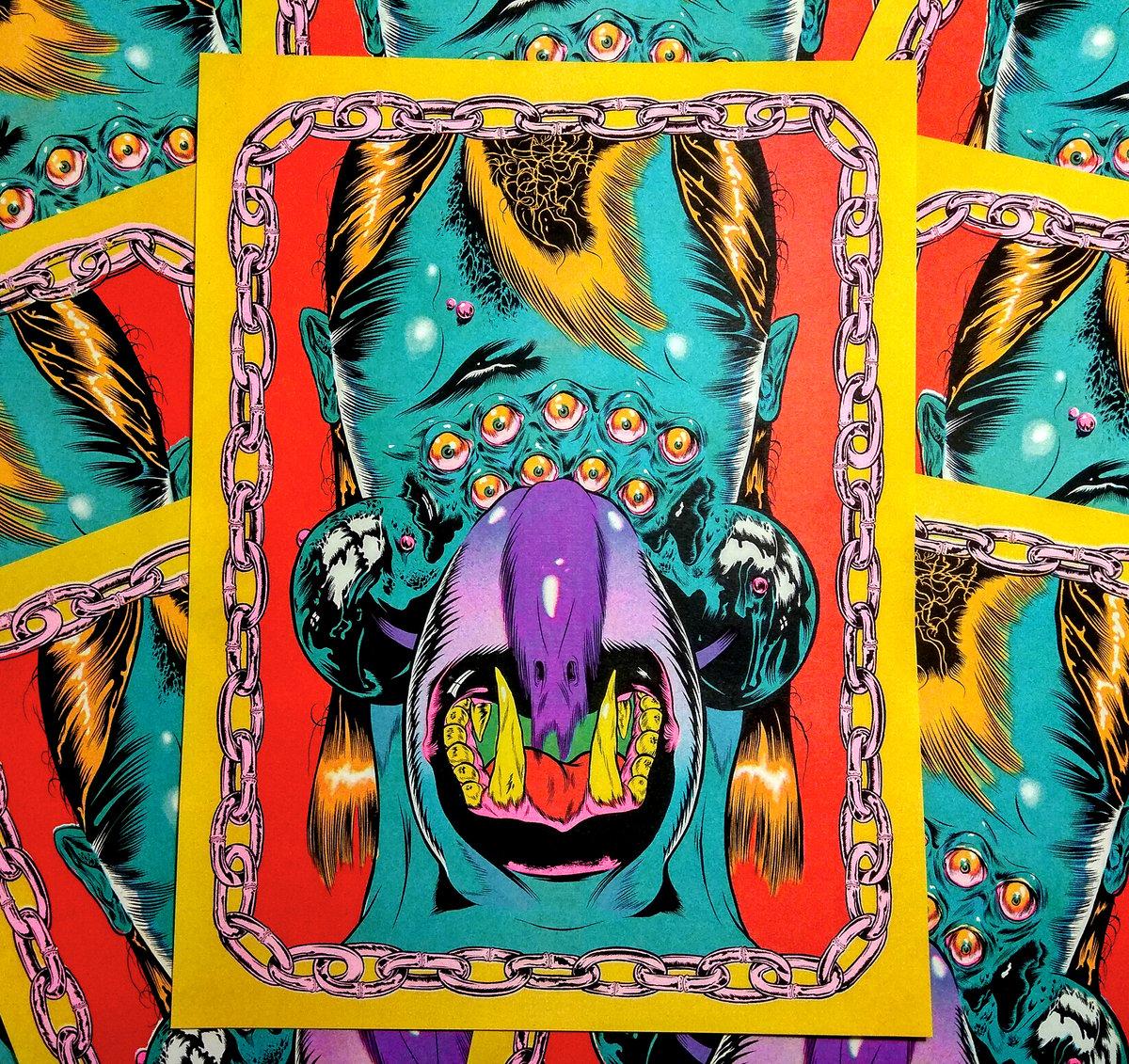 Image of Five Colour Risograph Print