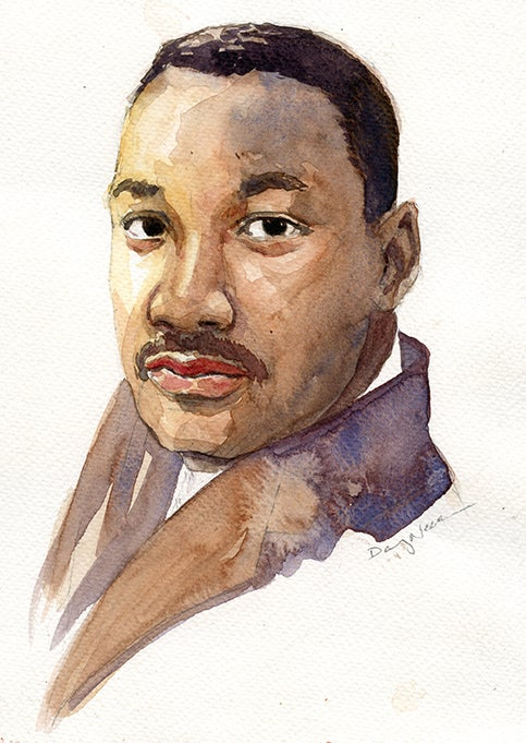 """Image of  Saturday May 2, 2020 WaterColor WorkShop """"Portraits"""" 1-4pm"""